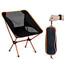 hesapli Kamp Mobilyaları-SWIFT Outdoor Katlanır Kamp Sandalyesi Taşınabilir Nefes Alabilir Ultra Hafif (UL) Katlanabilir File Oxford 7075 Alüminyum Alaşımları için 1 Kişi Kamp & Yürüyüş Balıkçılık Kumsal Piknik Sonbahar Bahar
