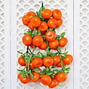 hesapli Yapay Çiçekler-Yapay çiçek düzensiz 1 şube numarası ile pu ofis ev duvar dekorasyon için meyve duvar çiçek klasik sahne sahne tarzı