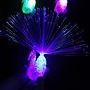 זול קישוט אורות-1pc לילה צד אספקה טווס אצבע אור צבעוני הוביל אור- up טבעות ילדים ילדים צעצועים לילה ווקאלית קונצרט גאדג 'טים קישוט 5v