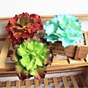 זול פרחים מלאכותיים-פרחים מלאכותיים 1 הסניף המלכה של כובע פרח קלאסי שלב הבמה כפרי צמחים עסיסיים פרח השולחן