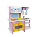 povoljno Alati-Kuhinja Sink Toy drven Drvo-plastični kompozit Drvo-plastična ploča Djeca Dijete koje je tek prohodalo Sve Igračke za kućne ljubimce Poklon 5 pcs