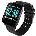povoljno Smart Wristbands-st6 pametni sat za narukvicu sat otkucaja srca prati krvni tlak aktivnost fitness tracker narukvica pametna bend za ios android
