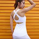 זול ביגוד כושר, ריצה ויוגה-בגדי ריקוד נשים יוגה למעלה צבע אחיד יוגה כושר וספורט טי שירט לבוש אקטיבי נושם תומך זיעה קשיח
