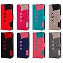 billige iPhone-etuier-etui til Apple iPhone xr / iphone xs maks magnetisk / med stativ / stødsikker hele kroppen tilfælde geometrisk mønster hard pu læder til iphone x / xs / 8 plus / 8/7 plus / 7/6 / 6s plus