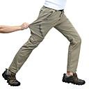 זול סטים של חולצות ומכנסיים\שורטים לרכיבת אופניים-בגדי ריקוד גברים מכנסיים לטיולי הליכה חיצוני נושם ייבוש מהיר מתיחה תומך זיעה סתיו אביב קיץ מכנסיים תחתיות מחנאות וטיולים ציד דיג שחור אפור כהה ירוק צבא M L XL XXL XXXL - Wolfcavalry® / אלסטית מותניים
