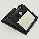 hesapli Dış Ortam Lambaları-2pcs 8 W Güneş duvar ışık Su Geçirmez / Güneş Enerjisi / Kızılötesi Sensör Serin Beyaz 3.7 V Açık Hava Aydınlatma / Avlu / Bahçe 40 LED Boncuklar