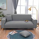 זול כיסויים-ספה לכסות גבוהה למתוח מוצק קומבינטוראלי רך פוליאסטר slipcovers