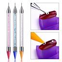זול טבעת מפית-עפרון עפרון dotting עיפרון עט עיפרון עצמי רינסטונים אבני חן קידוח בחירת בורר טיפים כלים DIY סלון מסמר אמנות