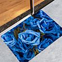 זול אביזרי תאורה-1pack מודרני שטיחונים לאמבטיה אלמוגים פרחוני חדר אמבטיה עיצוב חדש / יצירתי