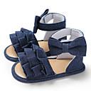 abordables Sacs Enfants-Fille Toile Sandales Bébés (0-9m) / Enfant en bas âge (9m-4ys) Premières Chaussures Blanc / Bleu de minuit / Rose Eté