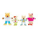 זול Rear View Monitor-סרט מצוייר יצירתי עץ לילד פעוטות כל צעצועים מתנות