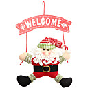 זול בלונים-קישוטים לחג קישוטי חג מולד קישוטים לחג המולד דקורטיבי אדום / ירוק 1pc