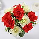 זול פרחים מלאכותיים-פרחים מלאכותיים 1 ענף קלאסי מסוגנן ורדים פרחים לשולחן