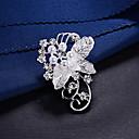 זול סטים של תכשיטים-בגדי ריקוד נשים תפס לשיער רטרו פרח מסוגנן מתוק סִכָּה תכשיטים כסף עבור Party פֶסטִיבָל