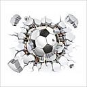 זול מדבקות קיר-מדבקות קיר דקורטיביות - מדבקות קיר מטוס כדורגל פנימי / חדר ילדים