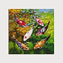 halpa Maisema maalaukset-Hang-Painted öljymaalaus Maalattu - Maisema Eläimet Moderni Sisällytä Inner Frame