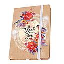 זול נייר & מחברות-נייר חדשני יד צבוע פרחים דפוס תחבושת סליל הספר / הערה הספר פנקס עבור בית הספר office מכתבים a6