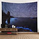 זול מדבקות קיר-נושא חוף קיר תפאורה 100% פוליאסטר ים- תיכוני וול ארט, קיר שטיחי קיר תַפאוּרָה