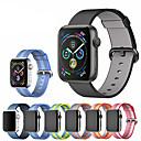 זול שורטים, מכנסיים, טייצים לרכיבת אופניים-ארוגים ניילון רצועת הלהקה wristband פרק כף היד עבור Apple סדרה סדרה 4/3/2/1 שעון חכם