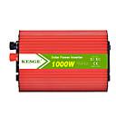 זול ממיר כוח-kesge אליפסה 1000w dc כדי AC המכונית כוח מהפך dc12v / 24v-ac220v / 110v עם 2 מהפך כוח USB