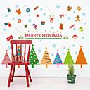 זול חפצים דקורטיביים-מדבקות קיר דקורטיביות - מדבקות קיר הולידיי Christmas חדר שינה / פנימי