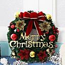 זול בלונים-קישוטים לחג קישוטי חג מולד קישוטים לחג המולד דקורטיבי ירוק 3pcs