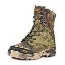הנעלה ואביזרים-בגדי ריקוד גברים נעלי טיולי הרים נעלי טיולים עמיד למים עמיד נושם מוגן מגשם צעידה סתיו חורף ירוק צבא / נגד החלקה