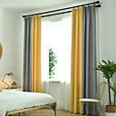 זול דלת חומרה & מנעולים-ארופאי Blackout שני פנאלים וִילוֹן חדר שינה   Curtains