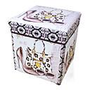 זול עיצוב וקישוט לקיר-קופסת אחסון ניילון עתיקה אביזר 1 קופסת אחסון שקיות אחסון משק הבית