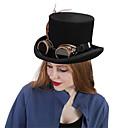 זול הד פיס למסיבות-עור / 100% צמר / סגסוגת ביגוד לראש עם נוצות / כובע / מתכת חלק 1 לבוש יומיומי / בָּחוּץ כיסוי ראש
