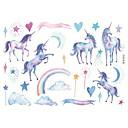 hesapli Kağıt ve Defterler-yeni moda kağıt unicorn desen serisi etiketleri&ofis için amp bantlar& amp okul malzemeleri 1 adet