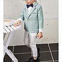 זול Building Blocks-תלתן / נייבי כהה תערובת פולי וכותנה חליפה לנושא הטבעת  - 1set כולל מעיל / Pants / עניבת פרפר