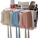 זול גאדג'טים לאמבט-כלים יצירתי / מודרני, חדשני מודרני עכשווי פלסטיק 3pcs - כלים מברשת שיניים ואביזרים