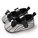 זול Kids' Flats-בנות צעדים ראשונים PU שטוחות תינוקות (0-9m) / פעוט (9m-4ys) זהב / כסף / פוקסיה אביב / קיץ