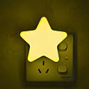 hesapli Kapalı Gece Lambası-1pc Duvar Tipi Gece Aydınlatması Sarı Yaratıcı 220-240 V