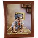 זול מסגרות תמונה לקולאג'-מודרני עכשווי עור גימור צבוע מסגרות לתמונות, 2pcs