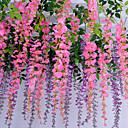 זול צמחים מלאכותיים-פרחים מלאכותיים 1 ענף קלאסי מודרני עכשווי ורדים פרח השולחן