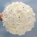hesapli Düğün Çiçekleri-Düğün Çiçekleri Buketler Düğün / Düğün Partisi Grogen / cam / Poron 11-20 cm