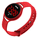 Недорогие Спортивные часы-skmei мужчины женщины спорт на открытом воздухе случайные водонепроницаемые цифровые электронные часы с простым дизайном сенсорный экран светодиодный дисплей календарь дата наручные часы