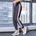 halpa Naisten urheilukengät-Naisten Joogahousut Urheilu Raita Korkea vyötärö Alaosat Tanssi Juoksu Fitness Activewear Kosteuden siirtävä Nopea kuivuminen Hikeä siirtävä Power Flex Elastinen Löysä