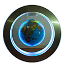 זול דיסק נייד USB-מגנטי c- צורה מרחף גלובוס מפת כדור הארץ כרטיס עם קישוט הבית (אותנו / האיחוד האירופי / בריטניה / au תקע)