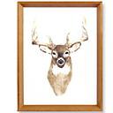זול מסגרות תלויות לתמונות-מודרני עכשווי עץ מראה מלוטשת מסגרות לתמונות, 2pcs