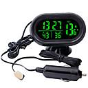 זול מדי לחץ אוויר לצמיגים-שעון דיגיטלי שעון רכב סוללה voltmeter מתח זוהר שעון אלקטרונית