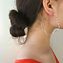 זול סט תכשיטים-בגדי ריקוד נשים עגיל סגנון וינטג' פרח עגילים תכשיטים זהב / כסף עבור Party מתנה יומי חגים מועדונים זוג 1