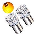 זול אורות בלימה-2 x p21w 382 1156 ba15s 5050 נורות רכב זנב 13-smd לרכב