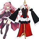 hesapli Anime Kostümleri-Esinlenen End Seraph Krul Tepes Anime Cosplay Kostümleri Japonca Cosplay Takımları / Elbiseler / Cosplay Üstler / Bottoms Tek Renk / Dikişli Dantel Elbise / Kollar / Korseler Uyumluluk Kadın's