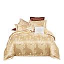 povoljno Čvrsta poplune-kamila sjajna princeza 250t luksuzni premium hotel jaquard čisti pamuk santin svila četiri komada posteljinu set