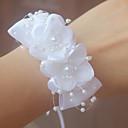 povoljno Cvijeće za vjenčanje-Cvijeće za vjenčanje Wrist Corsage Vjenčanje / Svadba Grosgrain / Perle 0-10 cm