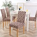 halpa Irtopäälliset-Tuolin päällinen Geometrinen / Classic / Moderni Herkkä tulostus Polyesteri slipcovers