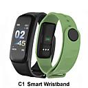 Недорогие Умные браслеты-c1 умный браслет фитнес браслет динамика цветной экран водонепроницаемый активность монитор сердечного ритма измерение артериального давления